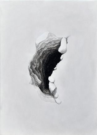 There's a World Going on Underground_Thomas Scalco - 'Htambà, 2019 - argillite di Lozio e legante acrilico su tela, 50x70 cm copy.jpg